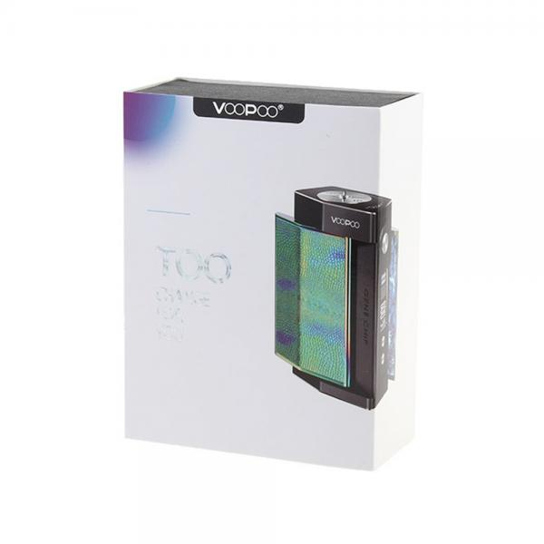 Mod Voopoo Too 180W - Black Turquoise