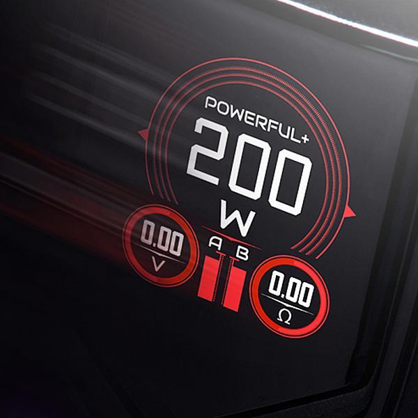 Mod Wotofo Flux 200W - Gunmetal