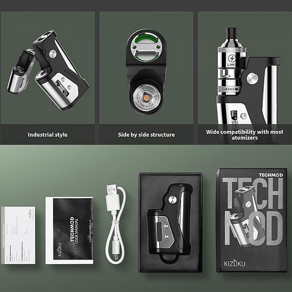 Mod Techmod 80W TC - Kizoku - Black