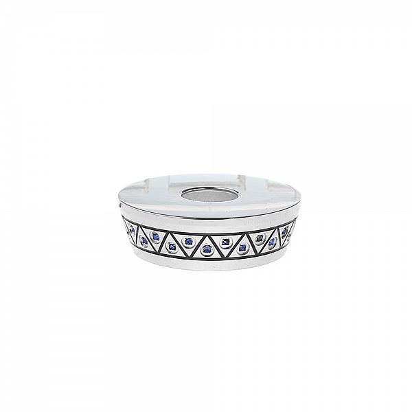 Beauty Ring Omeka Crystal 304 SS - Blue ...