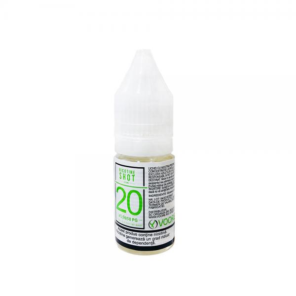 Nicotina Shot 10ml - 20mg/ml - 50VG/50PG