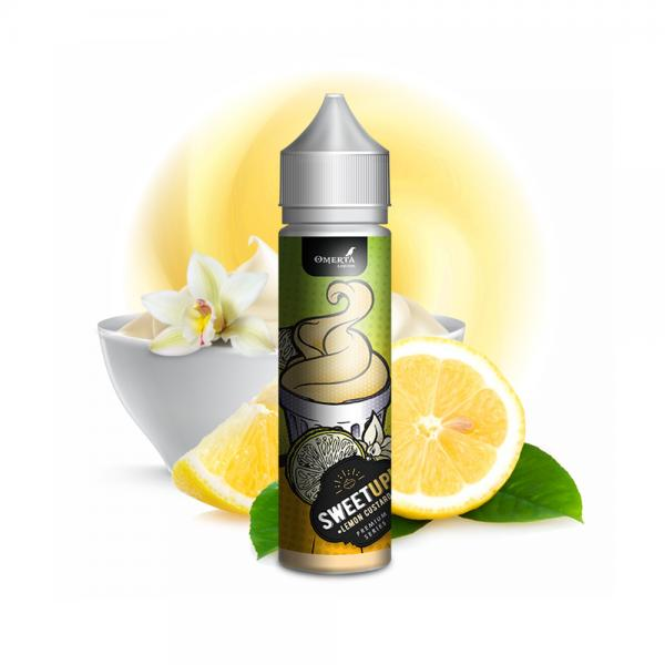 Aroma SweetUp Lemon Custard - Omerta Liq...
