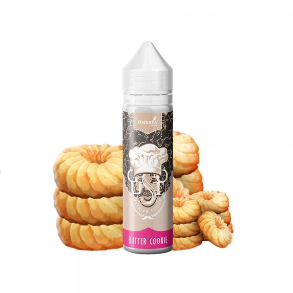 Aroma Gusto Butter Cookie - Omerta Liqui...